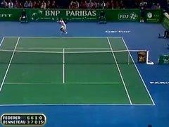 pelota de tenis jugador de tenis sfw