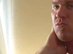 Bodybuilder Caesar - Hotel Solo & Cumshot