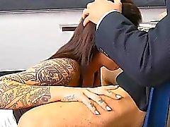 2 teachers make schoolgirl serve their hard jocks