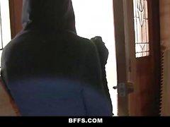 BFFS Burglar Fucked By Horny Housewife