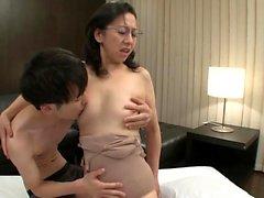 Hard Nipple Japanese Milf Beauty Doggystyle F