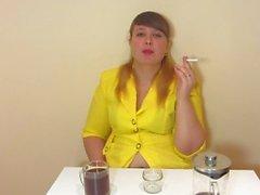 pliegue de fumar fetiche ruso