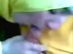 Hijab blowjob