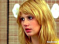 блондинках знаменитости групповой секс втроем