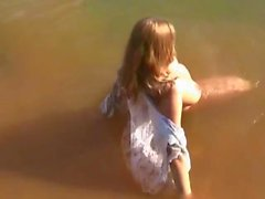 Katja - in the lake