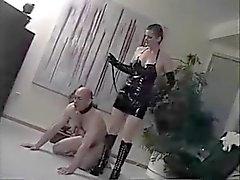 lamiendo el culo face sitting femdom