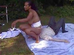 preto mamãe mãe big seios - torção