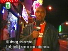 olandese intervista all'aperto