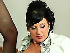 Fetish maid piss soaked
