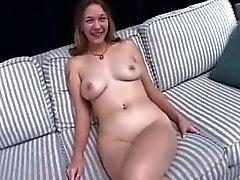 Quirky Teen Girl - Interview Masturbation