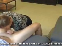 Happy Smiling Milf Slurps Massive Fat Dick Home Porno