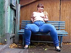 bbw peeing in jeans)