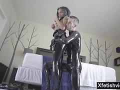 brasilianer fetisch latex pov