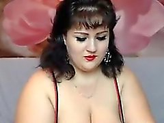 Large Webcam Woman Teasing