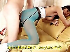 Cute Bum Bitch Tang Anal Gobbles Sperm