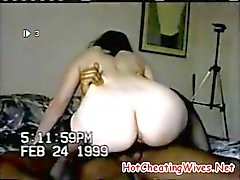 Hot Cheating Wife Loviing That BBC Filling Her