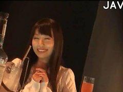asiatique public japonais baiser softcore