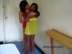 sexe noir noir lesbiennes ébène africain