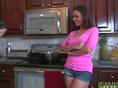 Milf Hunter - Mom fucks sons friend