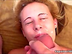 Teen Facial Compilation