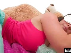 Hot babes use a couple of toys