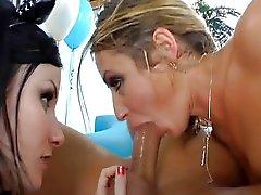 Anal threesome Sheena Shaw, Veruca James