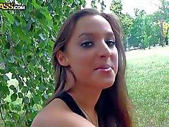 European Teen girl next door Amira Adara