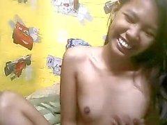 Skinny Filipina Small Tits Camming2