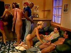 Classic orgy, some DP, good cumshots.