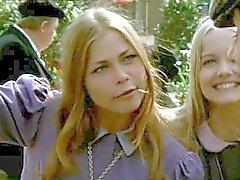 engraçado adolescentes vintage dinamarquês