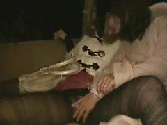 asiatique japonais lesbienne nylon jouets