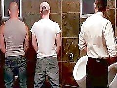 eşcinsel gay grup seks tuvalet