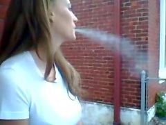 de fumar smoking -girl