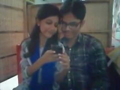 Bangladeshi Bf & GF in restaurant 2-Full on hotcamgirls . in
