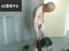 asiatisk gammal ung