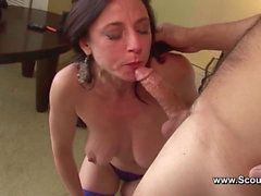 Mom get Anal fuck in her old ass and cum in Face