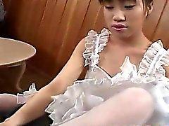 asiático grandes galos boquete facial japonês