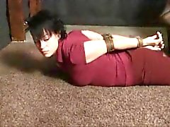bdsm corda hogtied