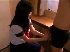 amatör asiatisk babe avsugning