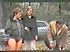 sexo em grupo peludo interracial swingers