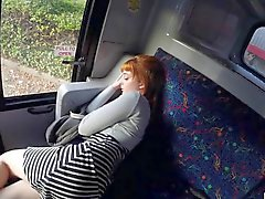 Horny teen girl Lola pounded in the bus