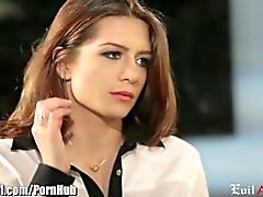 EvilAngel Veronica Vain 's First Time on Camera