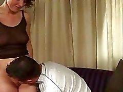 Virgin twat vs dildo