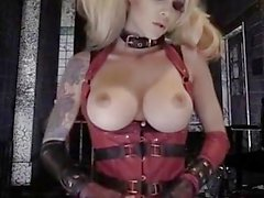 Hot Harley Quinn Smoking hot POV porn!!!!!