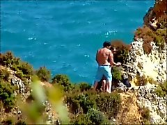 amatör portugisiska strand voyeur