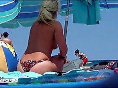 Btb 03 321m Incredible german blond topless wife beach ibiza