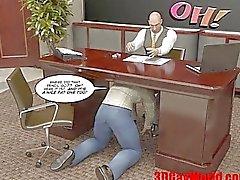 FIRST TIME GAY FUCK ON EXAM 3D Gay Cartoon Anime