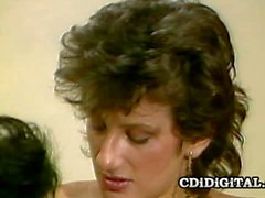 Liz Alexander & Sharon Mitchel Vintage Lesbians