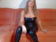 bdsm blondiner tyska latex
