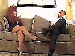 Redhead mommy gets banged by black Waneta from 1fuckdatecom